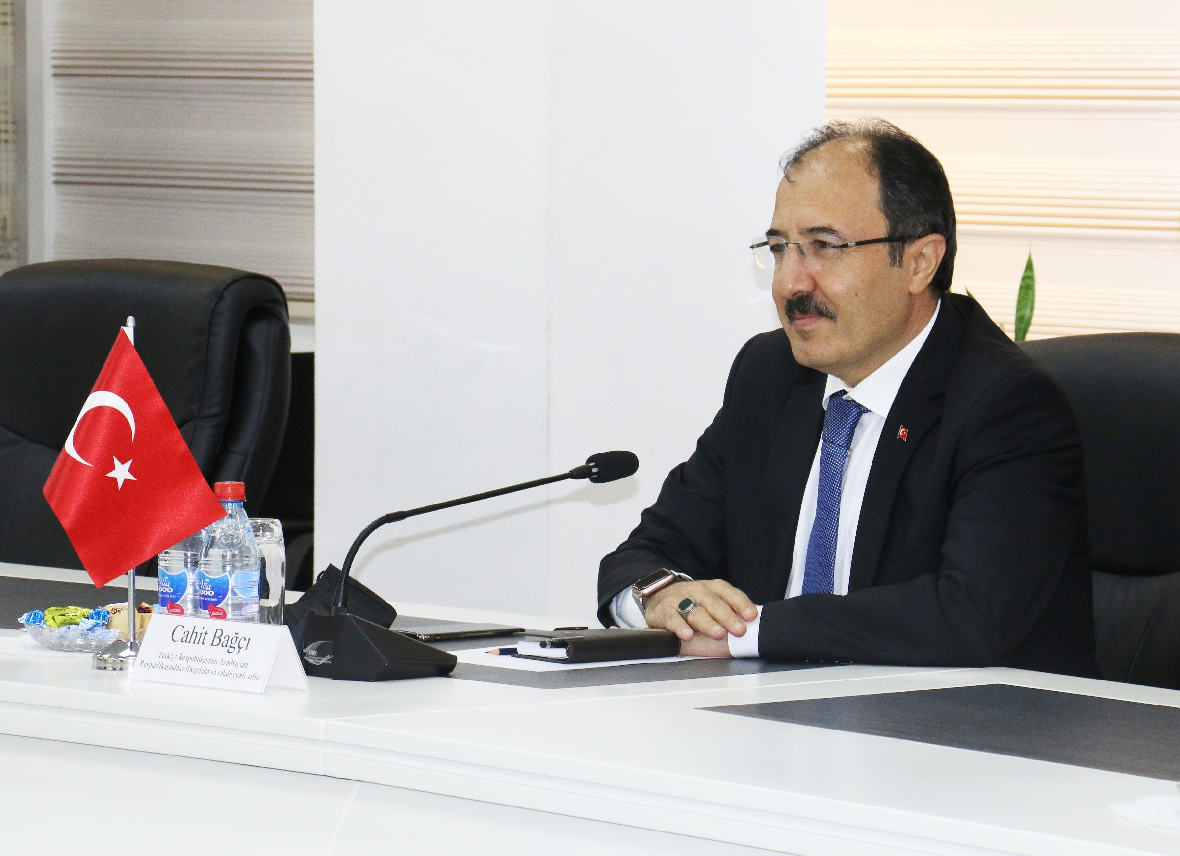 Azerbaijan-Turkey economic cooperation has been discussed