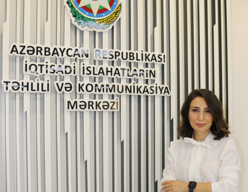 """Günay Quliyeva: """"Azərbaycan Qlobal İnnovasiya İndeksində mövqeyini 2 pillə yaxşılaşdırıb"""""""
