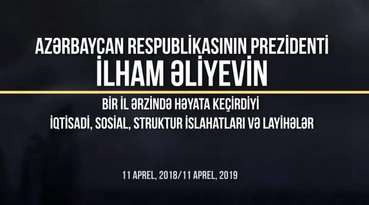 Azərbaycanda son bir ilin sosial-iqtisadi islahatları