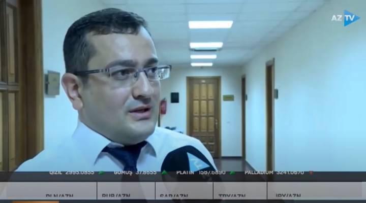 İİTKM-in departament rəhbəri Rəşad Hüseynov ərzaq sistemləri barədə AzTV-ə müsahibə verib