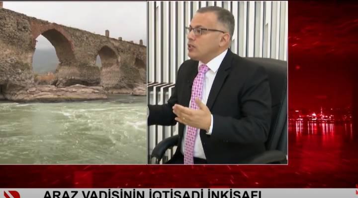 İİTKM-in icraçı direktoru Vüsal Qasımlı Real TV-ə Araz vadisinin iqtisadi inkişafı barədə müsahibə verib