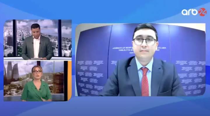 İİTKM-in eksperti Ayhan Satıcı Cəbrayılın iqtisadi potensilı barədə müsahibə verib